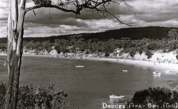 Dodges Ferry c1950 (now the Dodges Ferry jetty and boat ramp)