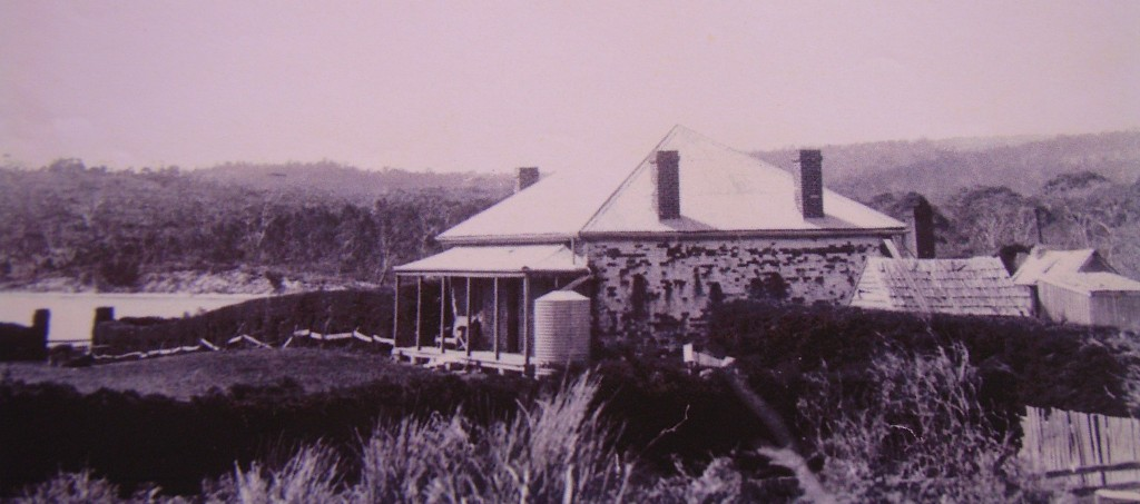 'Ferry Farm' at Dodges Ferry, built 1832