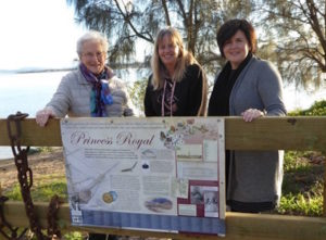 Princess Royal foreshore sign